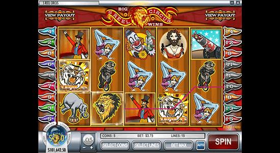 5-Reel Circus Hero Image Inner Center
