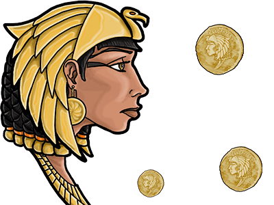Cleopatra's Coins Hero Image Inner 1