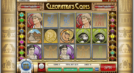Cleopatra's Coins Hero Image Inner Center