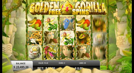 Golden Gorilla Hero Image Inner Center