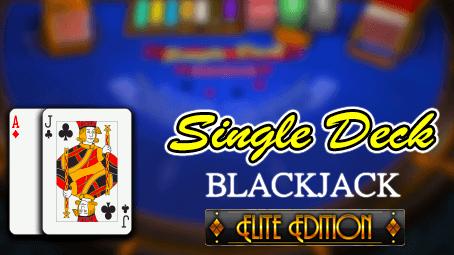Single Deck Blackjack: Elite Edition