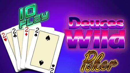 Deuces Wild Poker 10 Play