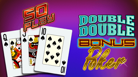 Double Double Bonus Poker 50 Play