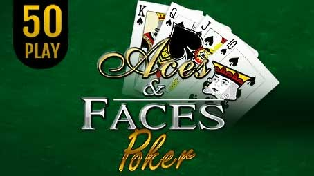 Aces & Faces Poker 50 Play