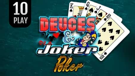 Deuces & Joker Poker 10 Play