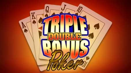 Triple Double Bonus Poker