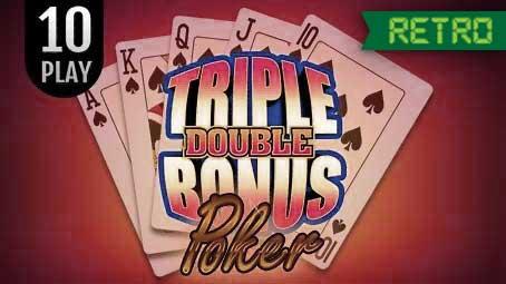 Triple Double Bonus Poker 10 Play