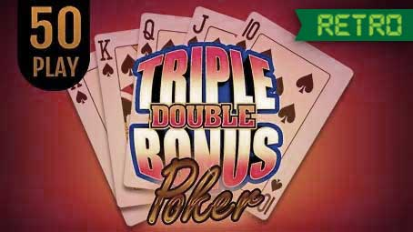 Triple Double Bonus Poker 50 Play