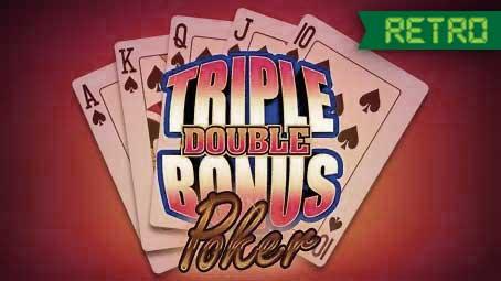 Triple Double Bonus Poker