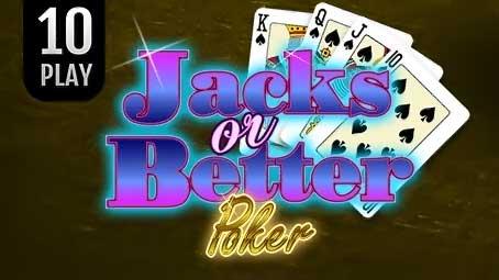 Jacks Or Better Poker 10 Play