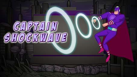 Alpha Squad Origins: Captain Shockwave