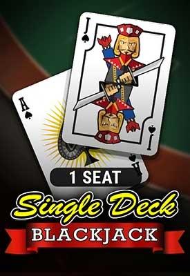 1 Seat Single Deck Blackjack