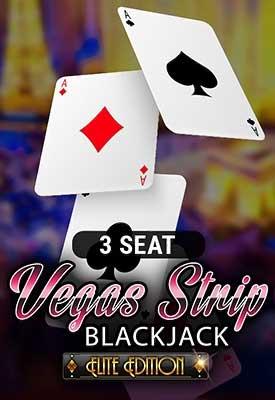 3 Seat Vegas Strip Blackjack: Elite Edition