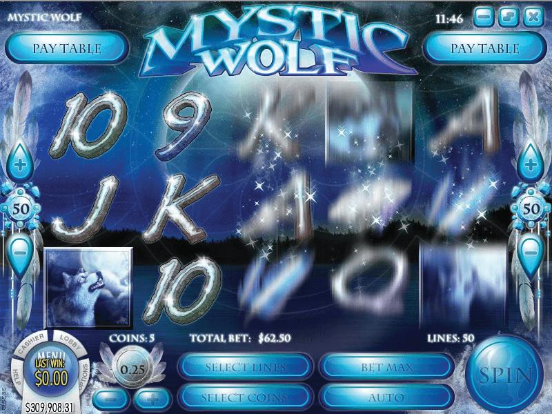 Mystic Wolf Hero Image Inner Center