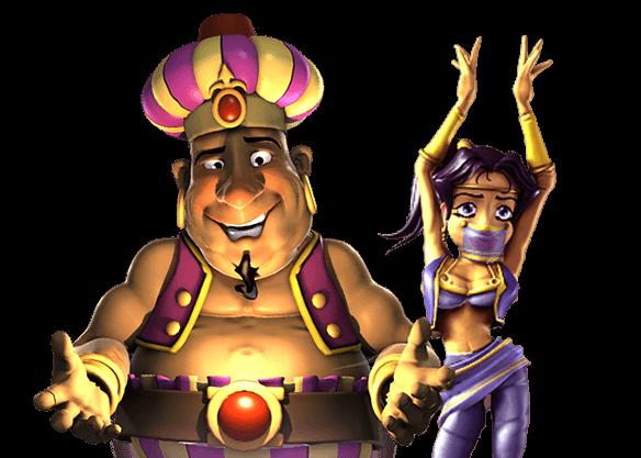 Genie's Fortune - left image