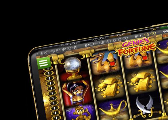 Genie's Fortune - right image