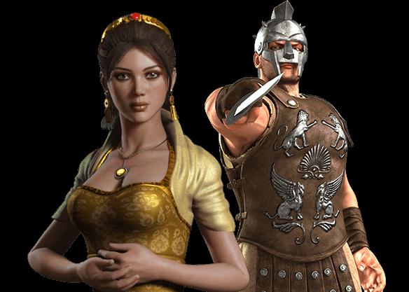 Gladiator - left image