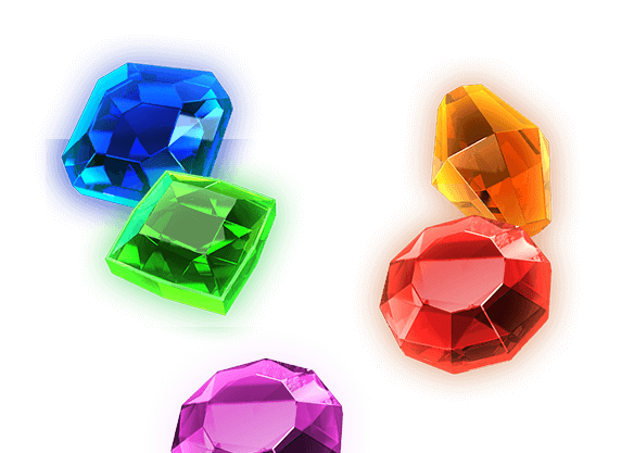 Mega Gems - left image