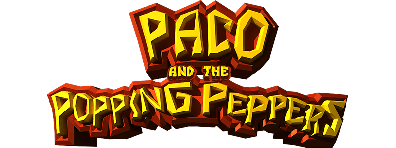 Paco and the Popping Peppers - logo