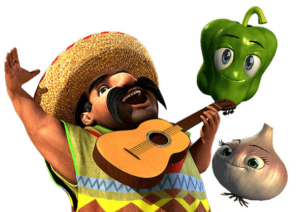 Paco and the Popping Peppers - left image