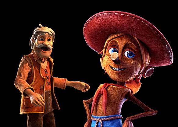 Pinocchio - left image