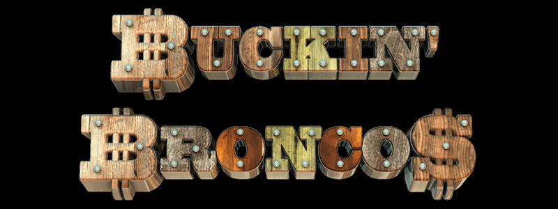 Buckin' Broncos - logo